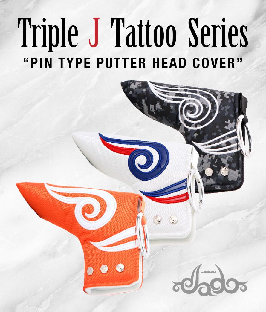 ヘッドカバー ピンタイプパター Triple J Tattoo