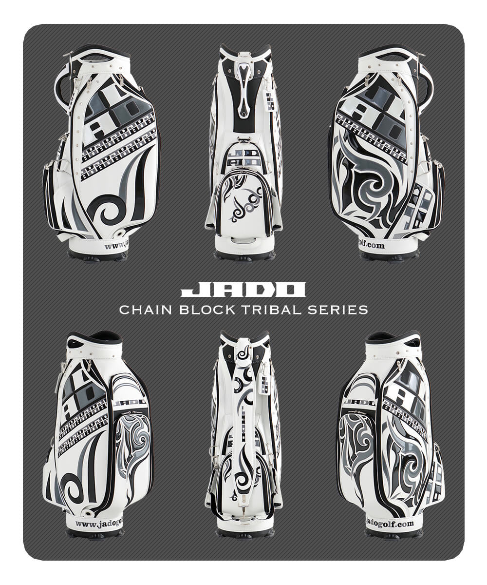 JADO Chain block Tribal series キャディバッグ