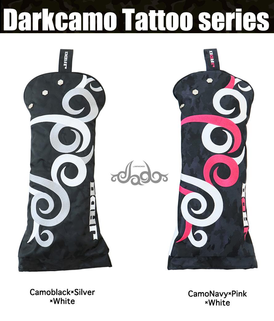 ヘッドカバー ドライバー Darkcamo Tattoo
