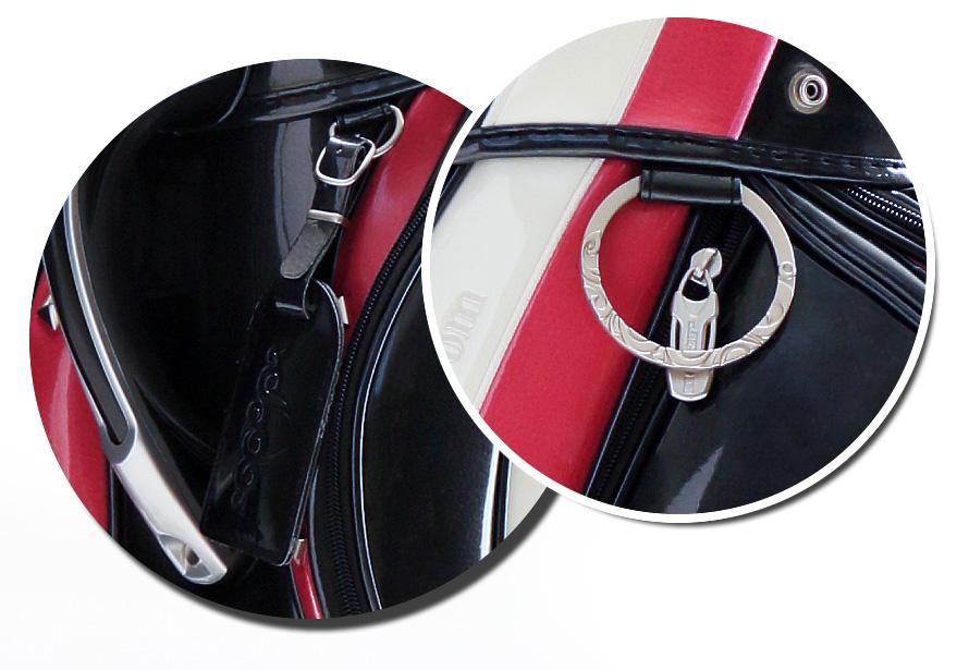 オリジナルキャディバッグ ブラック×ピンク×ホワイト 2016年6月70本限定発売アイテム