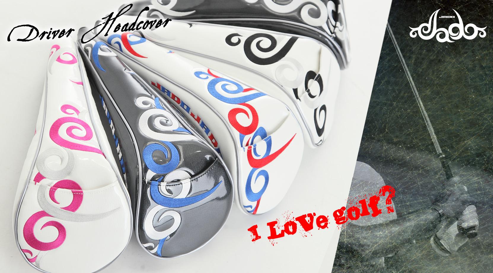 【Tatoo】ゴルフヘッドカバードライバー用 4カラー