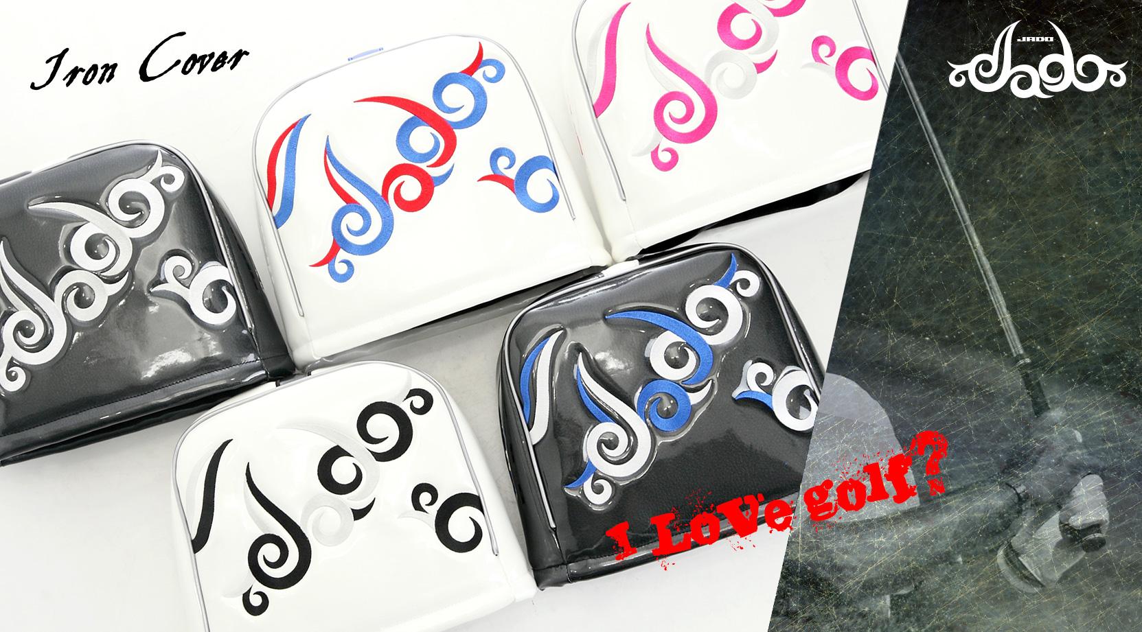 【Tatoo】ゴルフヘッドカバーアイアン用 4カラー