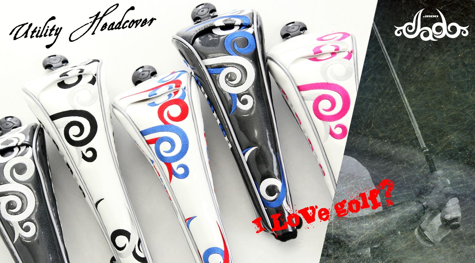 【Tatoo】ゴルフヘッドカバーフェアウェイウッド用 4カラー