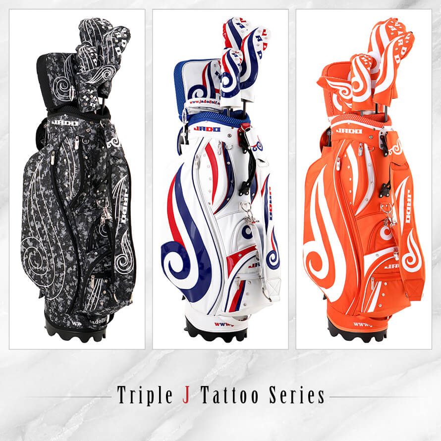 Triple J Tattooシリーズ ヘッドカバー フェアウェイウッド用 選べる3カラー 2019年4月末発売