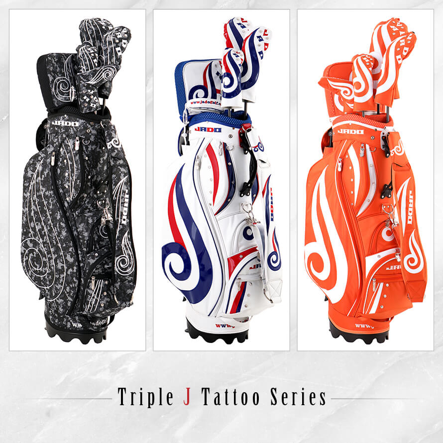 Triple J Tattooシリーズ ヘッドカバー ピンタイプパター用 選べる3カラー 2019年4月末発売